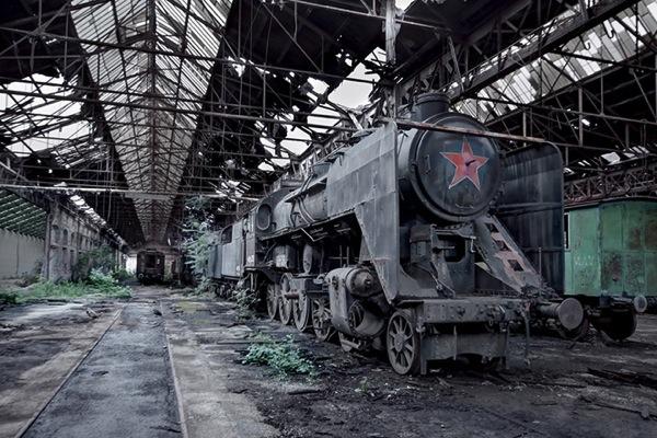 Abandoned soviet 10