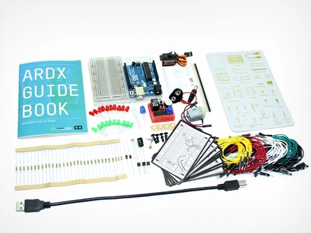 Arduino starter kit and course bundle
