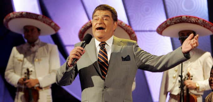 Mario Kreutzberger, aka Don Francisco, served as host of Sábado Gigante since the show's debut in 1962.