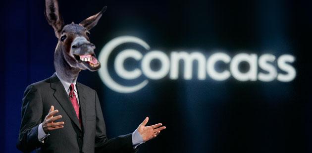 comcass comcast donkey