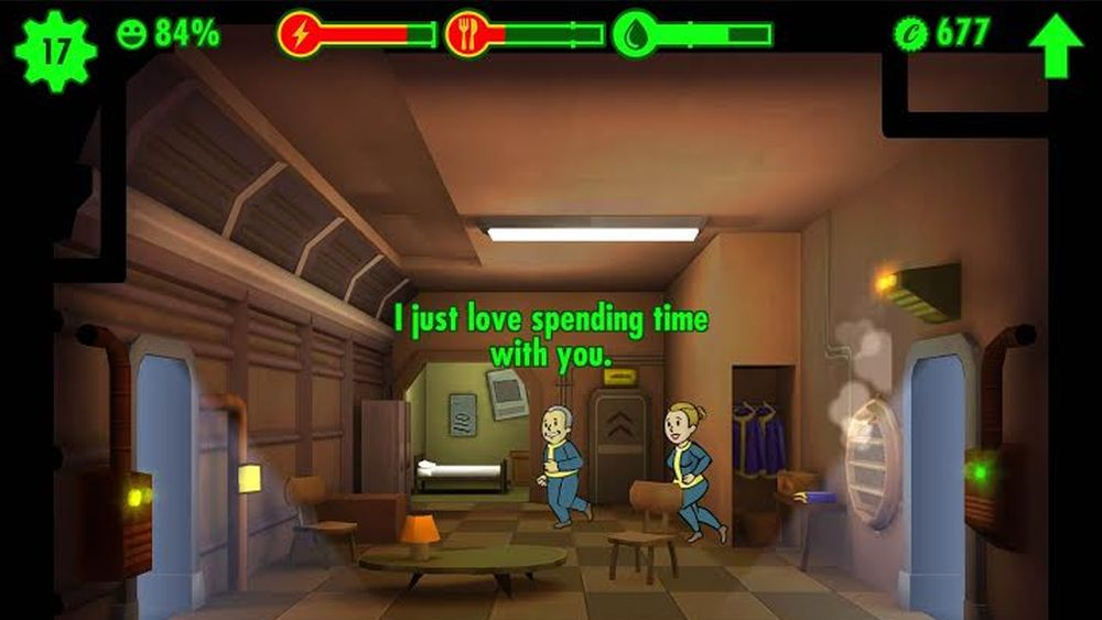 how to make people happy in fallout shelter