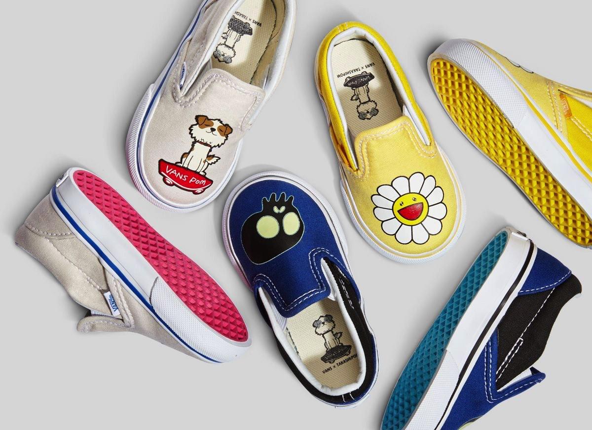 Vans Kids Slip On Shoes