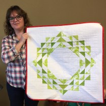 Angela Wreath Quilt