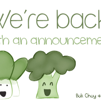 Welcome to Bok Choy and Broccoli! (Yes, we're back!)