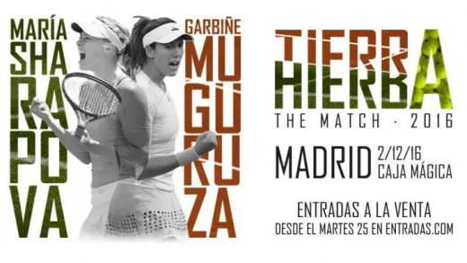 Sharapova e Muguruza protagonizam Batalha de Superfícies em Madrid