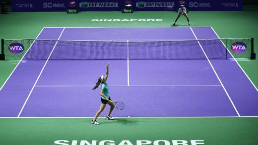 Afinal, o court das WTA Finals é rápido ou lento? As jogadoras não se entendem