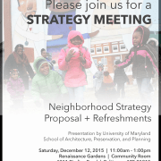 PHR Neighborhood Strategy Meeting