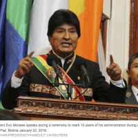 And the World is aware: Bolivia's Morales loses ground ahead of Feb. 21 referendum: poll