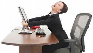escritorio mulher