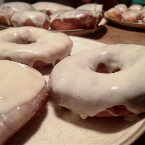 Freshly glazed, these doughnuts are so easy to tuck away, you will go through these alarmingly fast.
