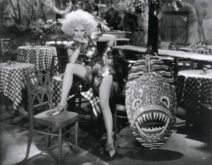 Marlene Dietrich in The Blue Angel