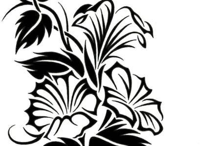 tribal vine tattoo designs