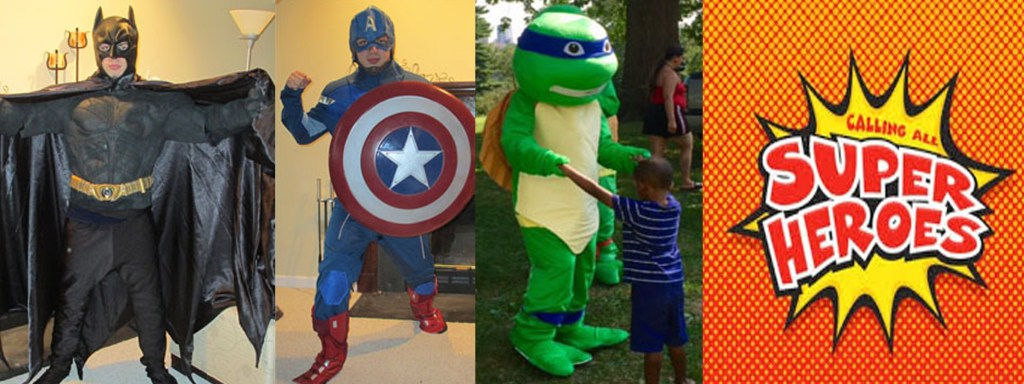 Super Hero Parties!