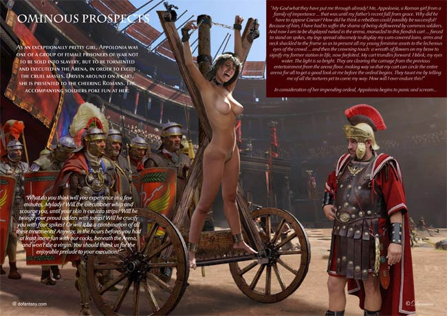 ancient roman slaves punishments