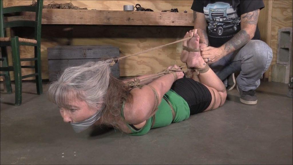 hands over head bondage gif