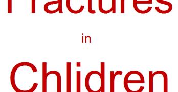 Fractures in Children