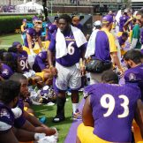 Nose tackle Demetri McGill was missing in action with an ankle injury.