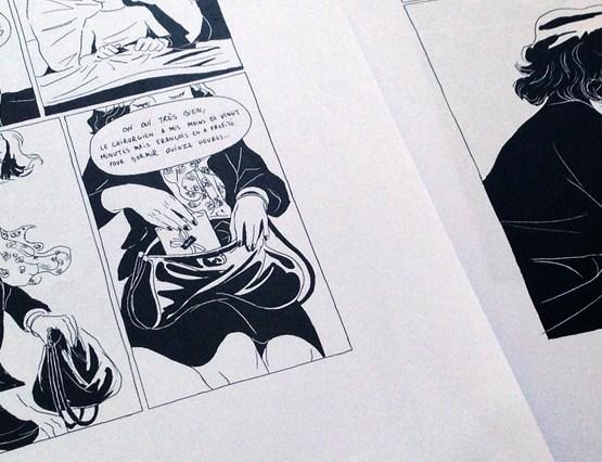 2 pages du futur livre de François Bertin chez Warum éditions