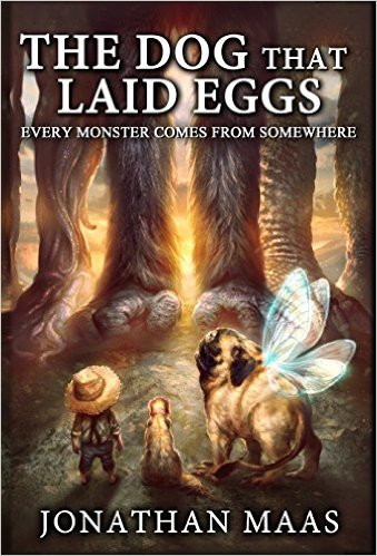 Book Cover: THE DOG THAT LAID EGGS by Jonathan Maas