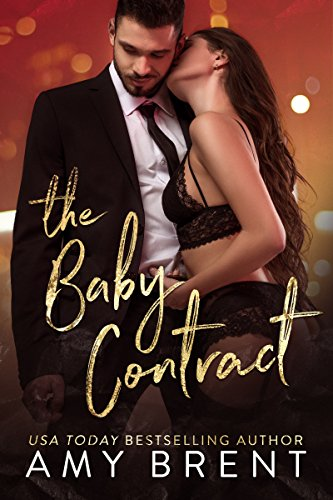 Book Cover: The Baby Contract by Amy Brent