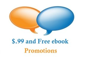 $.99 and Free book promos
