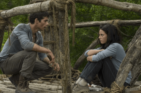 Thomas and Teresa - Maze Runner