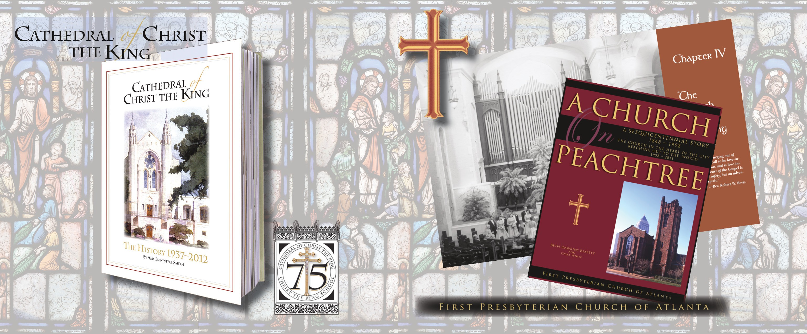 Bookhouse has developed commemorative books for The Cathedral of Christ the King and First Presbyterian Church of Atlanta