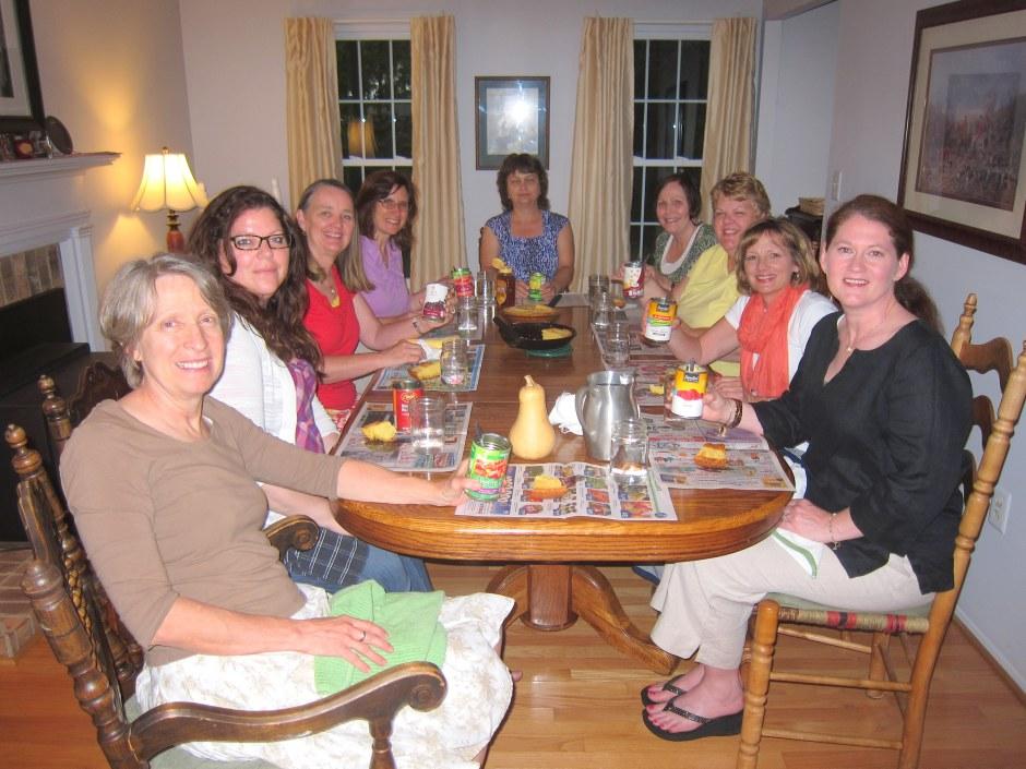 Mary, Nina, Judy, Cheryl, Janet, Denise, Tricia, Suzanne, Megan