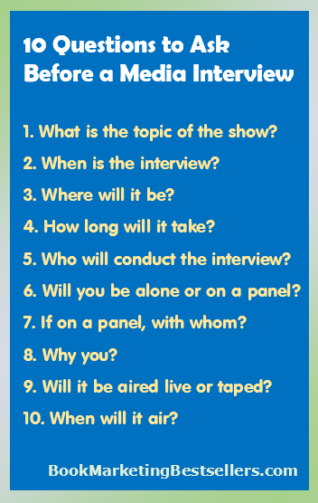 10 Questions to Ask Before a Media Interview