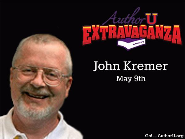 John Kremer is speaking at Author U Extravaganza