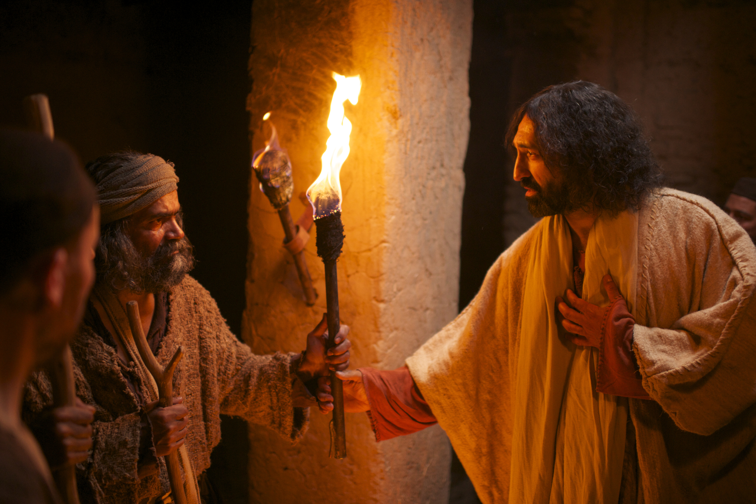movie review the gospel of john walking with jesus