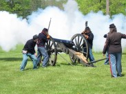 Civil War Cannon Firing Free Use