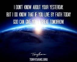 Tony Evans God Will Give Great Tomorrow - Copy