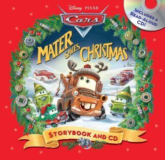 Mater Saves Christmas Storybook & CD