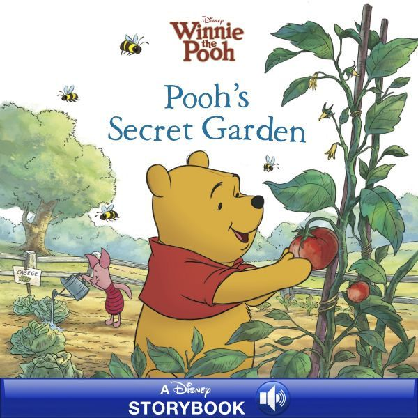 winnie the pooh pooh s secret garden disney publishing worldwide. Black Bedroom Furniture Sets. Home Design Ideas