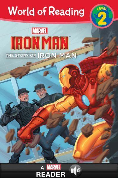 World of Reading Iron Man:  The Story of Iron Man
