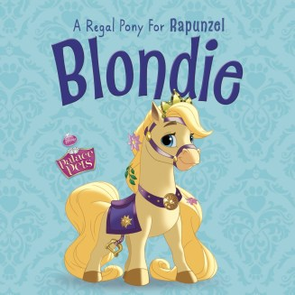 Blondie-a Regal Pony for Rapunzel