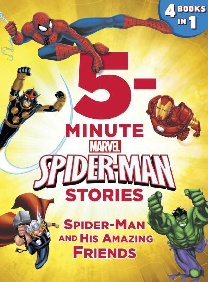 5-Minute Spider-Man Stories:  Spider-Man and his Amazing Friends