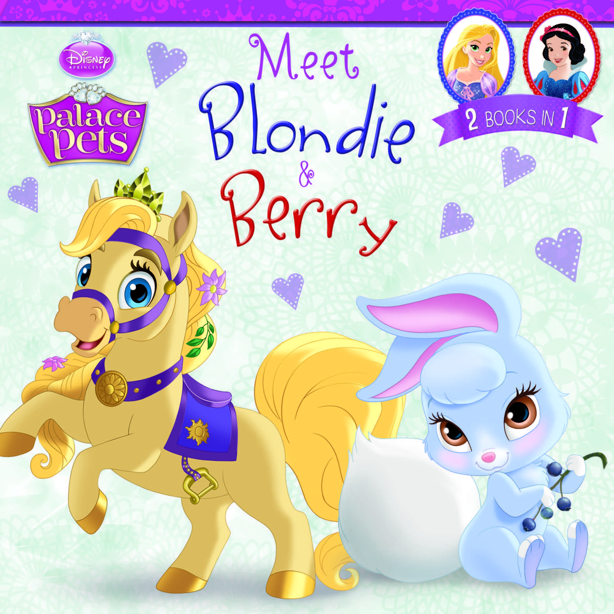 Palace Pets:  Meet Blondie and Berry