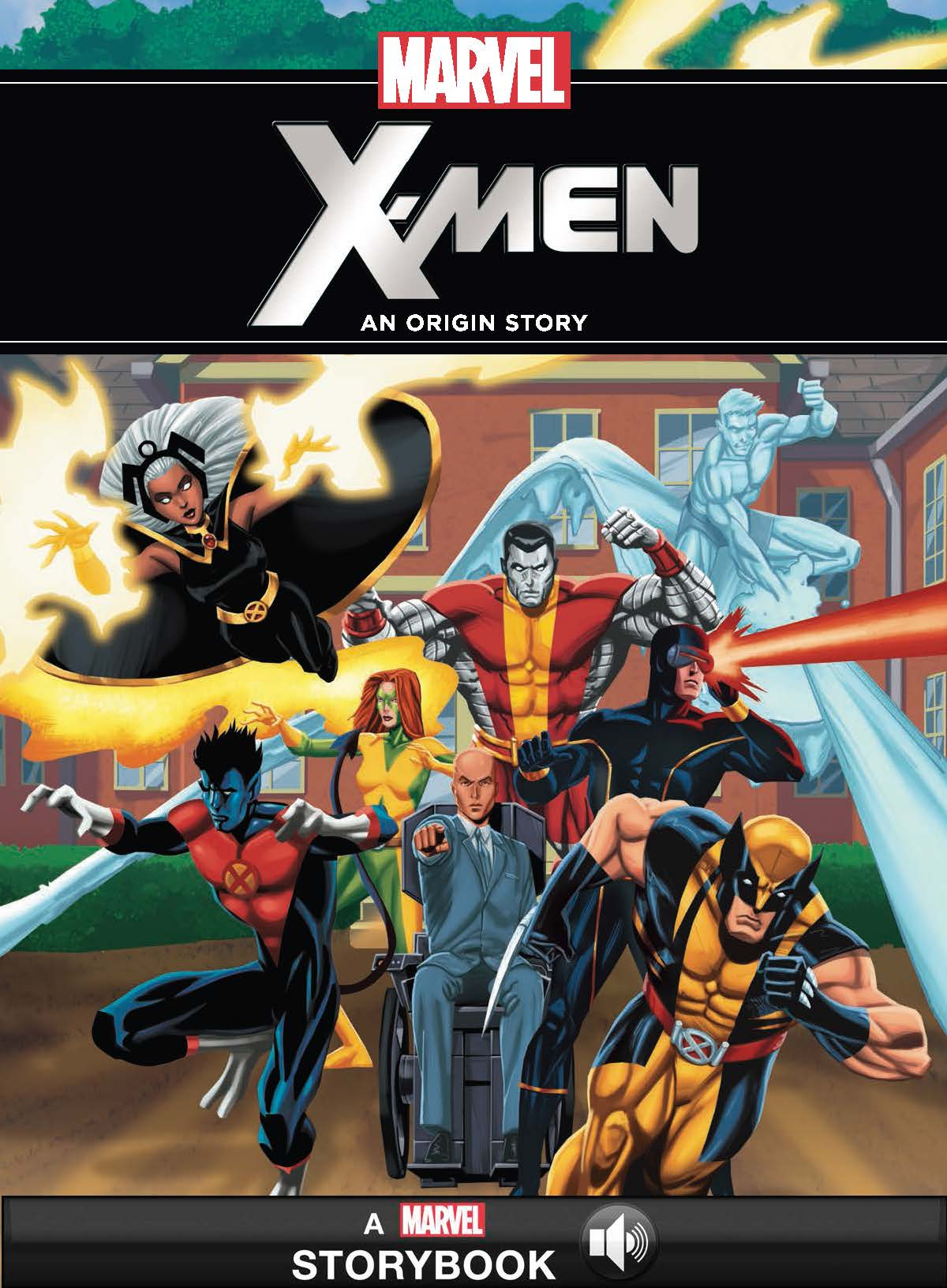 Marvel:  The X-Men: An Origin Story