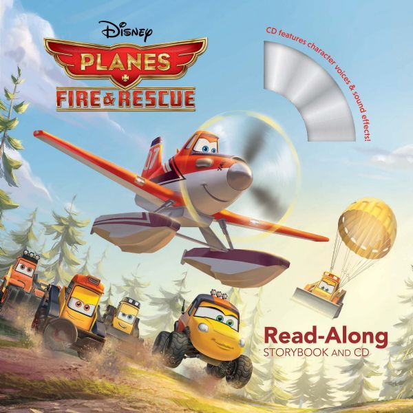 Planes: Fire & Rescue (Read-Along Storybook & CD):  Planes: Fire & Rescue