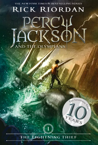 percy jackson and the olympians book one the lightning