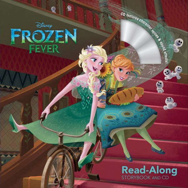 Frozen Fever Read Along Storybook And CD Disney