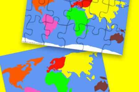 Map puzzles online 3 free printable continent map puzzles 564x1024 gumiabroncs Images