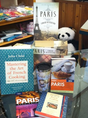 Paris Display | Page After Page, Elizabeth City, NC