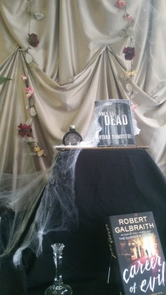 Halloween Display | Dragonfly Books, Decorah, IA