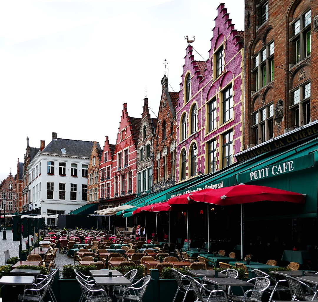 Bruges restaurants on the Main Square