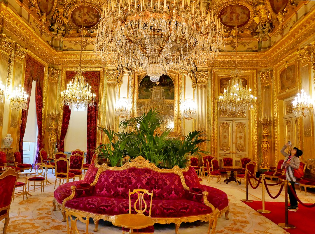 Louvre Napoleon III Grand Salon