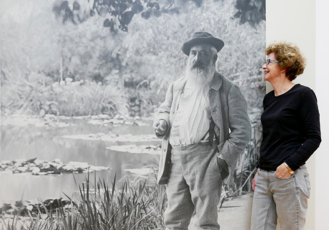 Monet and me at Giverny