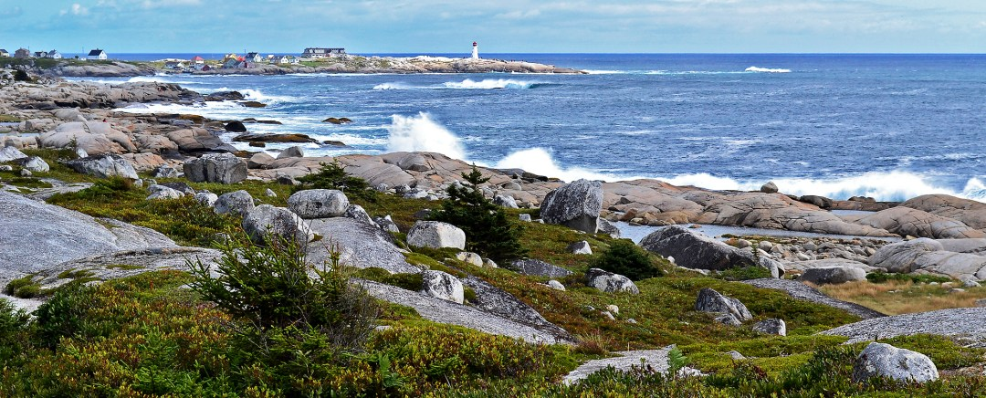 Site of Swissair crash at Peggy's Cove